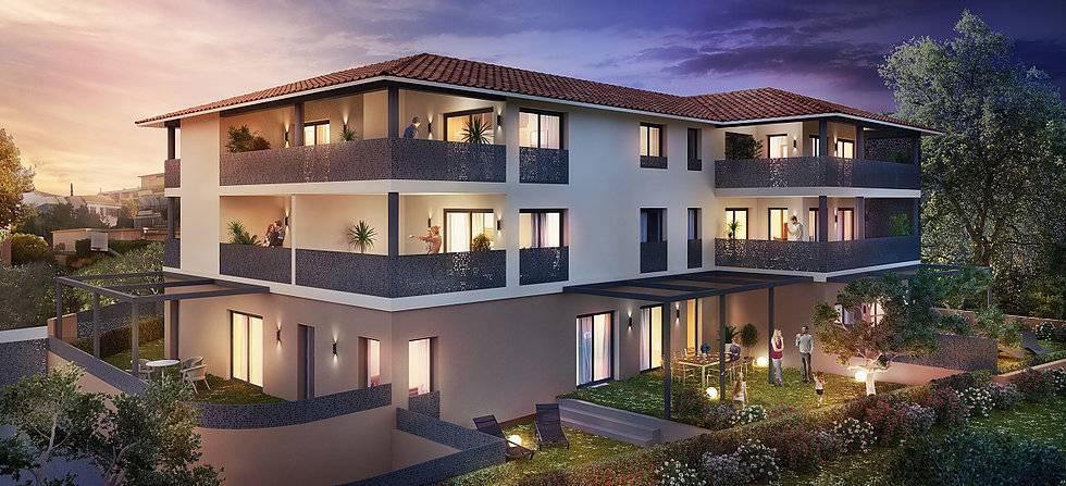 offres programmes neufs six fours sur mer les lones appartement proche mer et port sanary. Black Bedroom Furniture Sets. Home Design Ideas